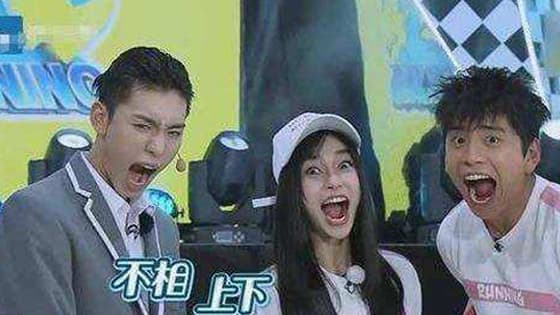 WANGZIYI and WANGDALU two amazing face and record running man?
