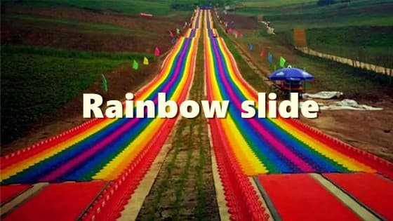 This Rainbow slide is in Xining,China!!Will you go for it?