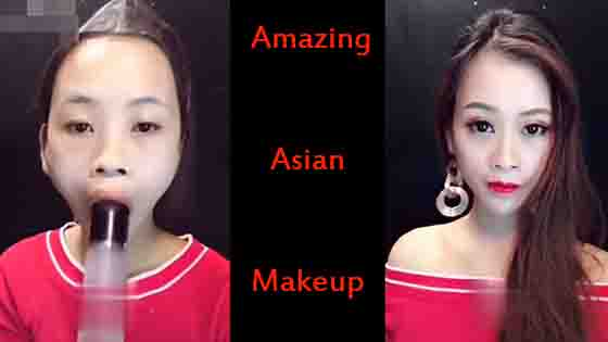Viral Asian makeup compilation: Asian makeup surprised everyone!