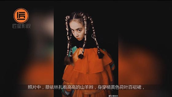 Jolin Tsai combed the goats and showed tenderness. Netizen: The little girl who is so beautiful.