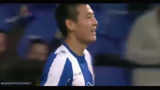 Handsome!On-the-spot,English-Spanish Bilingual Interpretation of Wu Lei Second Ball in La Liga