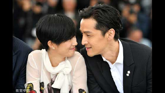 Hu ge and Kwai Lun Mei are close to each other, the picture is too beautiful, netizen: full screen cp feeling!