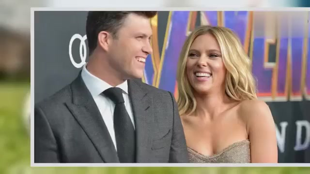 Colin Jost and Scarlett Johansson are engaged,bless them!