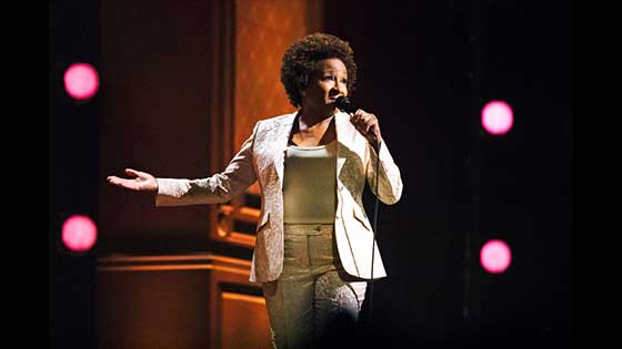 Not Normal, Wanda Sykes: TV reality shows, unfettered standing special program.
