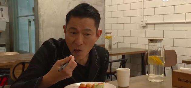 Andy Lau insisted on vegetarian food for six years only because his wife and daughter liked it.
