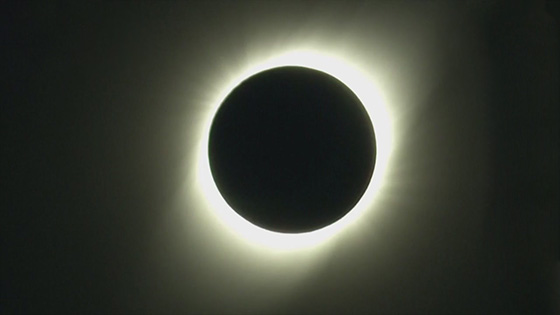 The day of total solar eclipse, and the total solar eclipse on July 2 in South America is amazing.