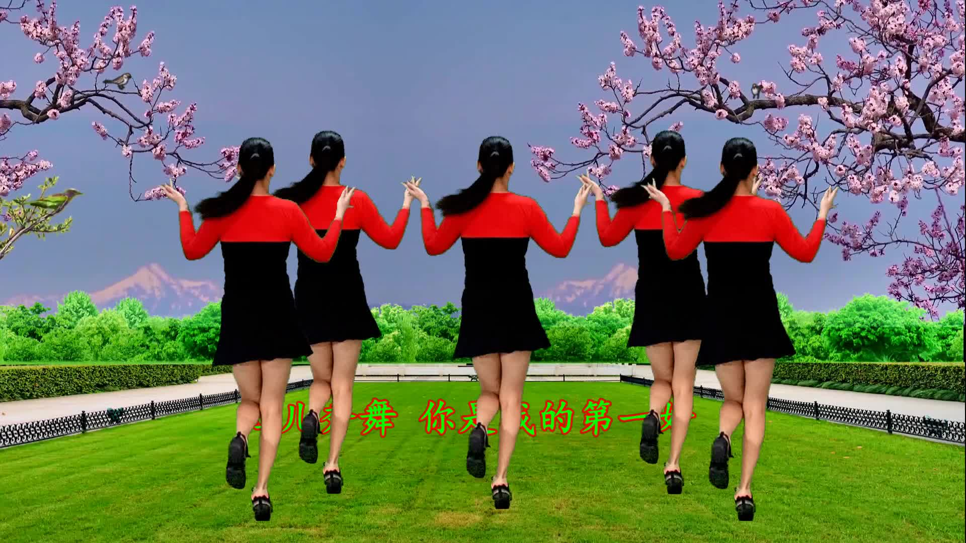 Hong Er Personal Square Dance You are my first good 16 steps.