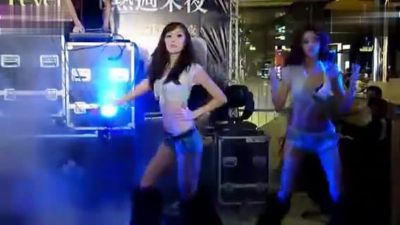 Beijing Railway Station Opening Dance on Weekend without Fever Night - Beauty
