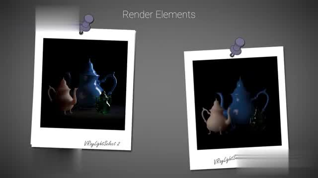Vray Elements Rendering Elements-Film-level Animation Rendering Process