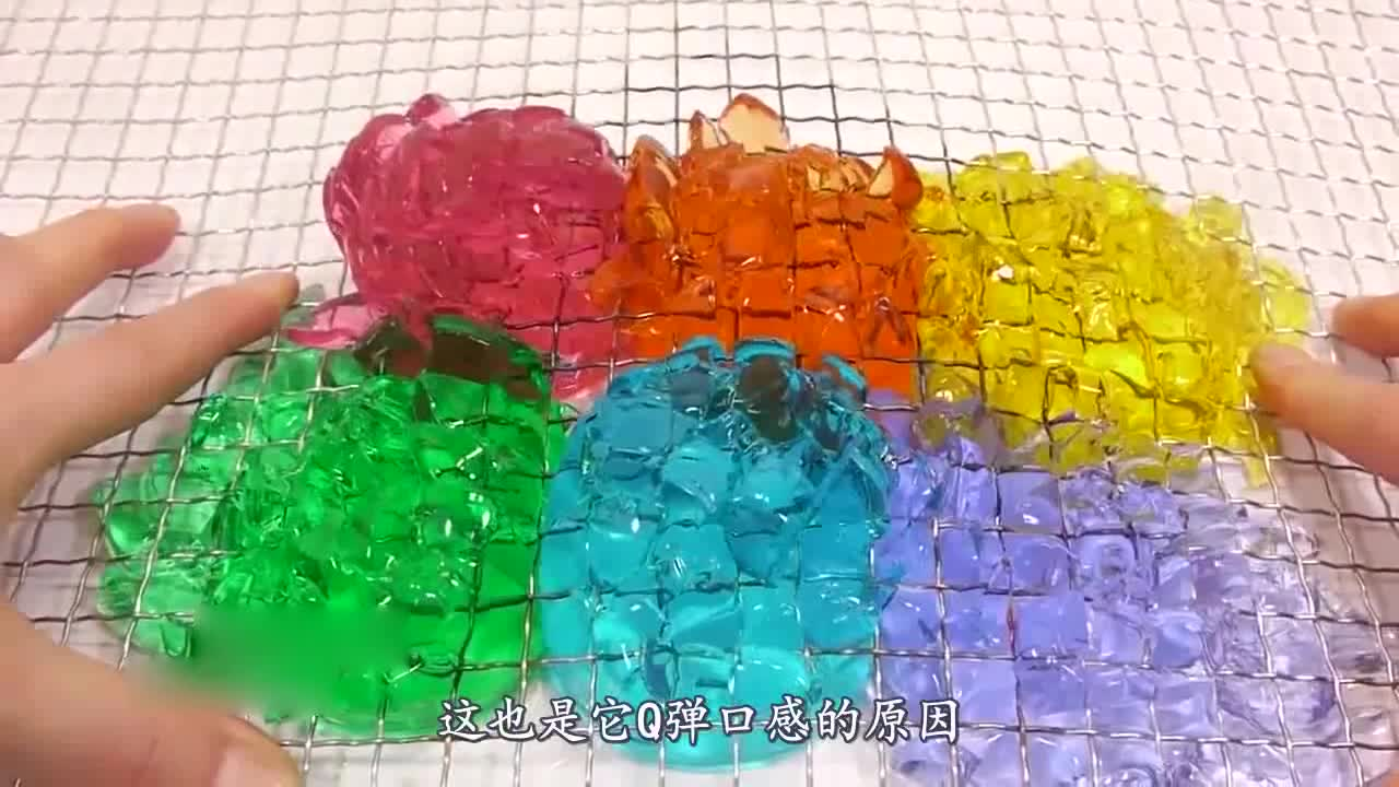 What happens when jelly meets 1000 degree wire mesh? Foreigners, netizens: It's too stressful to watch!