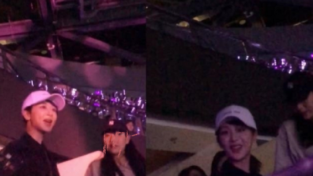 Yang Zi appeared at Zhang Yixing's concert. The mysterious person beside her attracted attention. Netizens: A little confused.