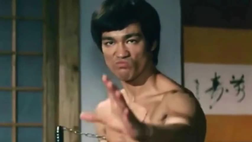 He is the film emperor and Bruce Lee. He never used a stand-in in for filming. His son is familiar to us.