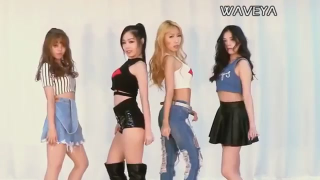 Korean Hot Dance:Waveya Twerk Dance Video