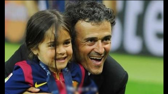 Luis Enrique Announces 9-year-old daughter died of illness