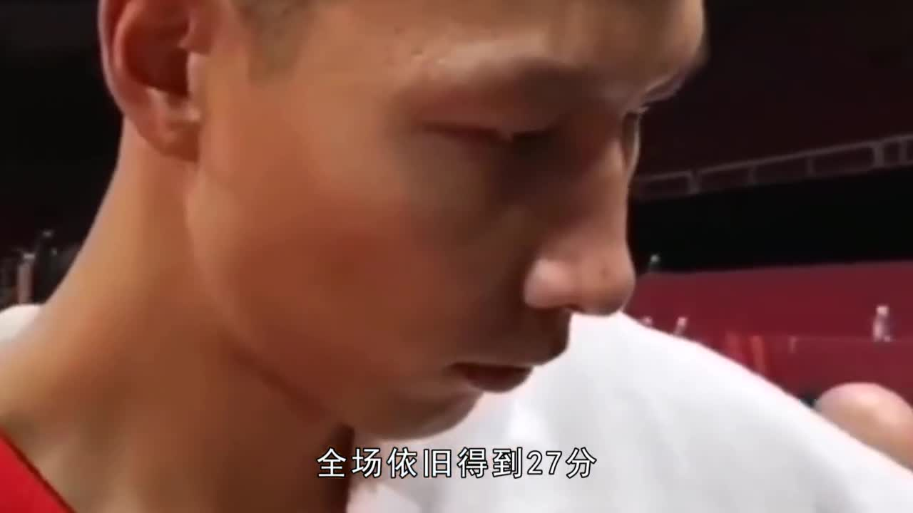 Chinese men's basketball team has no chance for the Olympic Games. Yi Jianlian, the main player, is distressing.