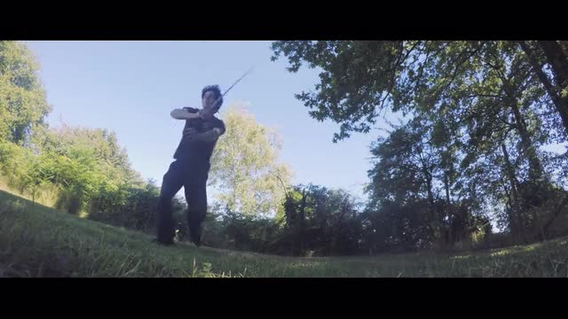 Elegant Long Sword Single Practice