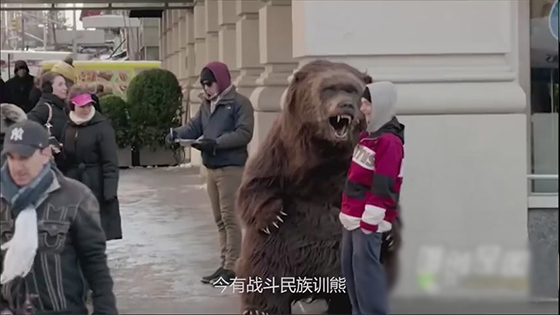 Why Russians raise bears as pets? - ridiculous and funny pet video