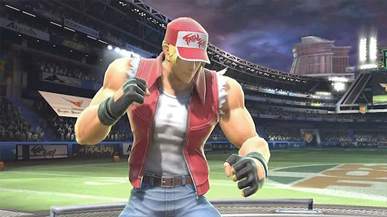 Super Smash Bros unique Terry Bogard: Terry's neutral special moveset