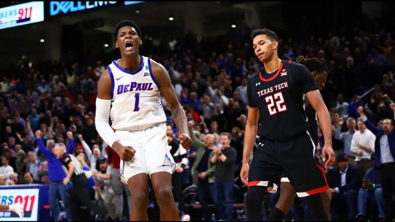Recap DePaul VS Texas Tech Highlight Video On NCAA Men's Basketball
