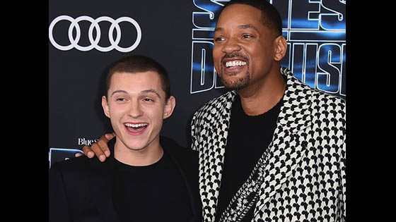 Will Smith and Tom Holland Bonded By Doing An Escape Room 2019