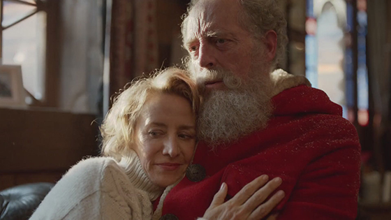 Marks & Spencer Follow warm Christmas AD - Mrs.Claus Secret Video