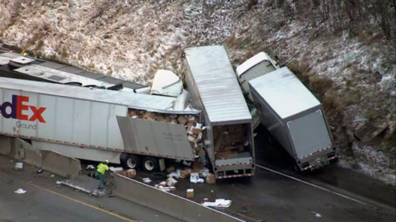 5 dead, at least 60 hurt in PA Turnpike accident in Westmorland County