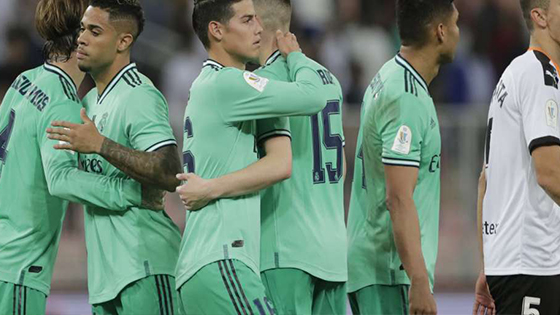 Real Madrid Beat Valencia 3-1, Advance to 2020 Spanish Super Cup Final
